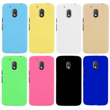 """For Motorola Moto G4Play 5.0"""" Snap On Rubberized hard case cover"""