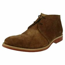 Mens Anatomic & Co Stylish Lace-Up Ankle Boots - Colorado