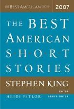 "EDITED by STEPHEN KING ""THE BEST AMERICAN SHORT STORIES 2007"" -- NO RESERVE!!"