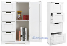 4 Drawer Cabinet Storage Composite Board Wooden Unit Bedroom Dining Room Home