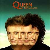 QUEEN - The Miracle (CD+bonus tracks, Oct-1991, Hollywood Records)