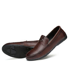Alligator Pattern Leather Mens Casual Slip On Loafers Shoes Plus Size US 6-12