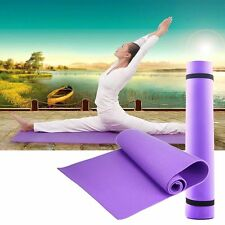Bag 3 colour Thick Mat Pad for Leisure Picnic Exercise Fitness Yoga VC