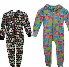 Kids Girls Boys Fruit Print Soft Light Onesee All In One Jumpsuit Costume 1-6
