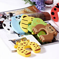 Door Stop Finger Pinch Guard Lock Jammer Stopper Baby Safety Protector 4/10pcs
