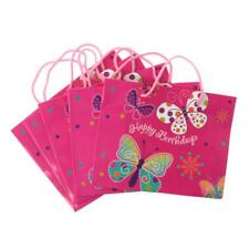5pcs Colorful Birthday Paper Gift Bags Party Loot Bags for Party Baby Shower