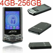 """4GB-256GBPortable  MP3 MP4 Player 1.8"""" LCD Screen FM Radio Video Games Movie Lot"""