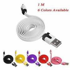 1M Micro USB 2.0A Sync Data Charge Cable Lead for Android Samsung HTC Nokia Sony