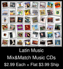 Latin Music(1) - Mix&Match Music CDs @ $2.99/ea + $3.99 flat ship