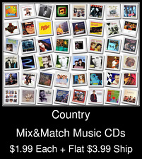 Country(1) - Mix&Match Music CDs @ $1.99/ea + $3.99 flat ship