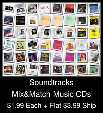 Soundtracks(1) - Mix&Match Music CDs @ $1.99/ea + $3.99 flat ship