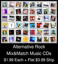 Alternative Rock(3) - Mix&Match Music CDs @ $1.99/ea + $3.99 flat ship