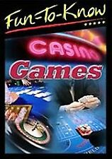 Fun To Know: Casino Games DVD roulette, black jack, craps, poker, baccarat, slot