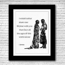 Lord of the Rings - Arwen and Aragorn - Love Quote -