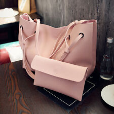 New Women PU Leather Shoulder Messenger Bag Tote Purse Handbag Crossbody Satchel