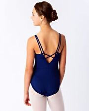 Lululemon Ivivva Pulse On Pointe Leotard HOBE Hero Blue NWT Dance Leotard 10 14