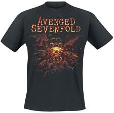 Avenged Sevenfold Deathbat Battle T-Shirt black