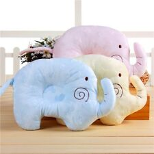 Elephant Infant Baby Anti Roll Sleep Pillow Newborn Positioner Prevent Flat Head