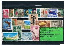 GB Stamps - British Empire & Commonwealth - New Zealand & Hong Kong Sets