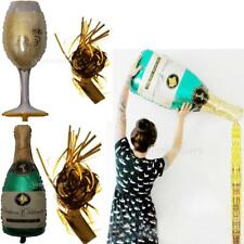 Wine Champagne Bottle Large Festival Tinsel Balloon Wedding Birthday Party Decor