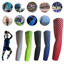 Sports Arm Sleeves Compression Arm Sleeve Anti-Slip Basketball Football Baseball