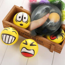 Squeezing Stress Relief Squeeze Venting Ball Egg Shaped Gift Smiley Squeeze Ball
