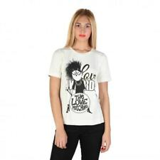 Love Moschino Clothing Women T-shirts White 74763 Outlet BDX