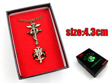 Anime Fullmetal Alchemist Necklace+Ring+Pendant+Box Cosplay Collection Otaku Hot