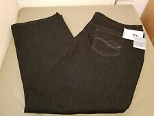 new womens jaclyn smith angel fit plus size stretch denim boot cut jeans pants.