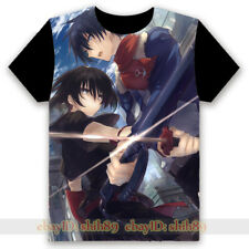 Anime Akame ga KILL! Casual T-shirt Unisex Tee Short Sleeve Cosplay Summer