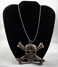 Pirate, Skull and Crossbones, Dragon, Biker-Themed Necklace with Knives