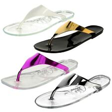 Ladies Spot On - Jelly Toepost Sandals