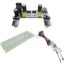 830 Solderless Mini USB MB102 Power Supply PCB Breadboard+65PCS Jump Cable Wires