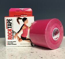"ROCKTAPE Rock Tape PINK 2""Therapeutic Kinesiology Sports Injuries Rehab Medical"