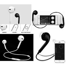 Wireless Sports Stereo Headset Bluetooth Earphone Headphone For iPhone 7 Samsung