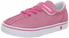 K Swiss Toddler Pink White Girls Shoes Sneakers  Strap Infant Size 7