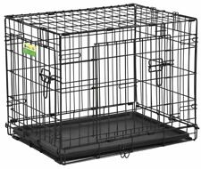 MidWest LifeStages Double Door Dog Crate - ACE Model - Collapsible Dog Crate