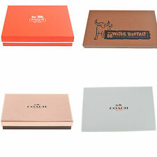 NEW Coach Gift Box for Large Wallet/Capacity Wristlet
