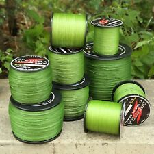 Hot Army Green Strong Spectra Braided Line Sea Freshwater Fishing Line 300-1000M