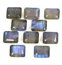 Natural Labradorite 6x4mm-18x13mm Octagon Cut Calibrated Size Loose Gemstone
