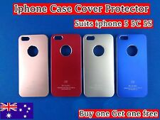 Phone Case Cover Protector Hard Matte Back - iPhone 5 5S (Buy one Get one free)