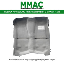 MOULDED CAR CARPET (G28) HOLDEN KINGSWOOD HQ HJ HX HZ WB MONARO UTE&P/VAN F&R