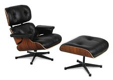 Eames Lounge Chair and Ottoman Replica 100% Genuine Italian/Aniline Leathers