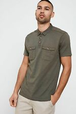 Threadbare Lockford Polo Shirt with Pocket Detail and Button Placket