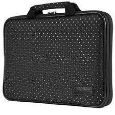 """7"""" - 15.6"""" Memory Foam Laptop PC Carrying Case Sleeve Cover Protect Bag Crystal"""