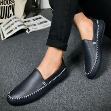 Men's New Flats Driving Moccasin Loafer Casual Classic Slip On Shoes Breathable