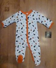 Baby Girls Boys HALLOWEEN Bodysuit Sleeper SIZE 0/3 3/6 Mo Shirt Pumpkin Ghost