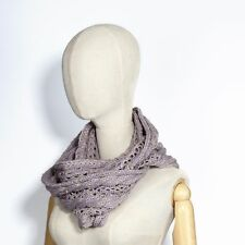 Variety of Colors for Fashionable Winter Soft and Cozy Knit Lace-Design Scarf