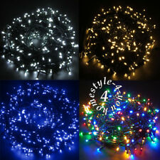 Mains Plug 30M String Fairy 300 LED Lights Christmas Xmas Party Outdoor Indoor