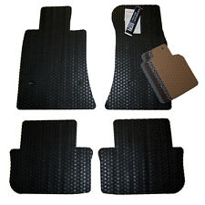 Audi A6 All Weather Rubber Floor Mats - Sedan & Wagon- Custom Exact Fit Pattern